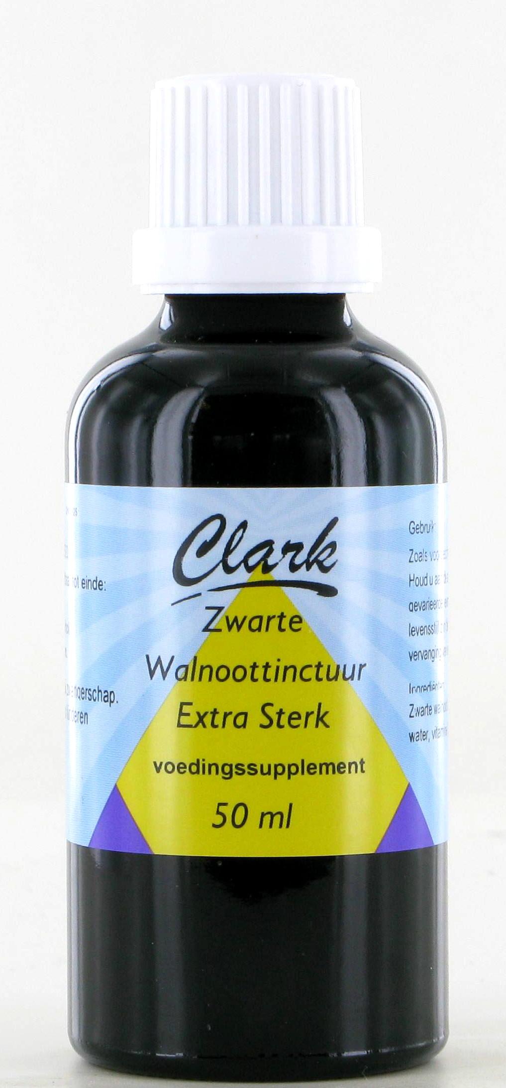 Clark Zwarte Walnoottinctuur extra sterk (50ml)