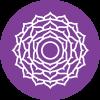 Chakra 7 affirmatie Wijsheid (paars)