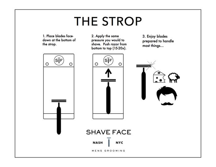 Gebruiksinstructie The Strop