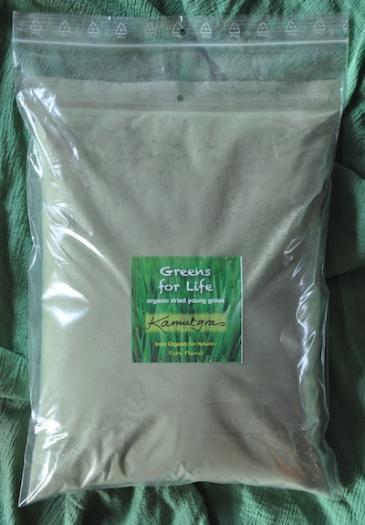 Kamutgrasbladpoeder