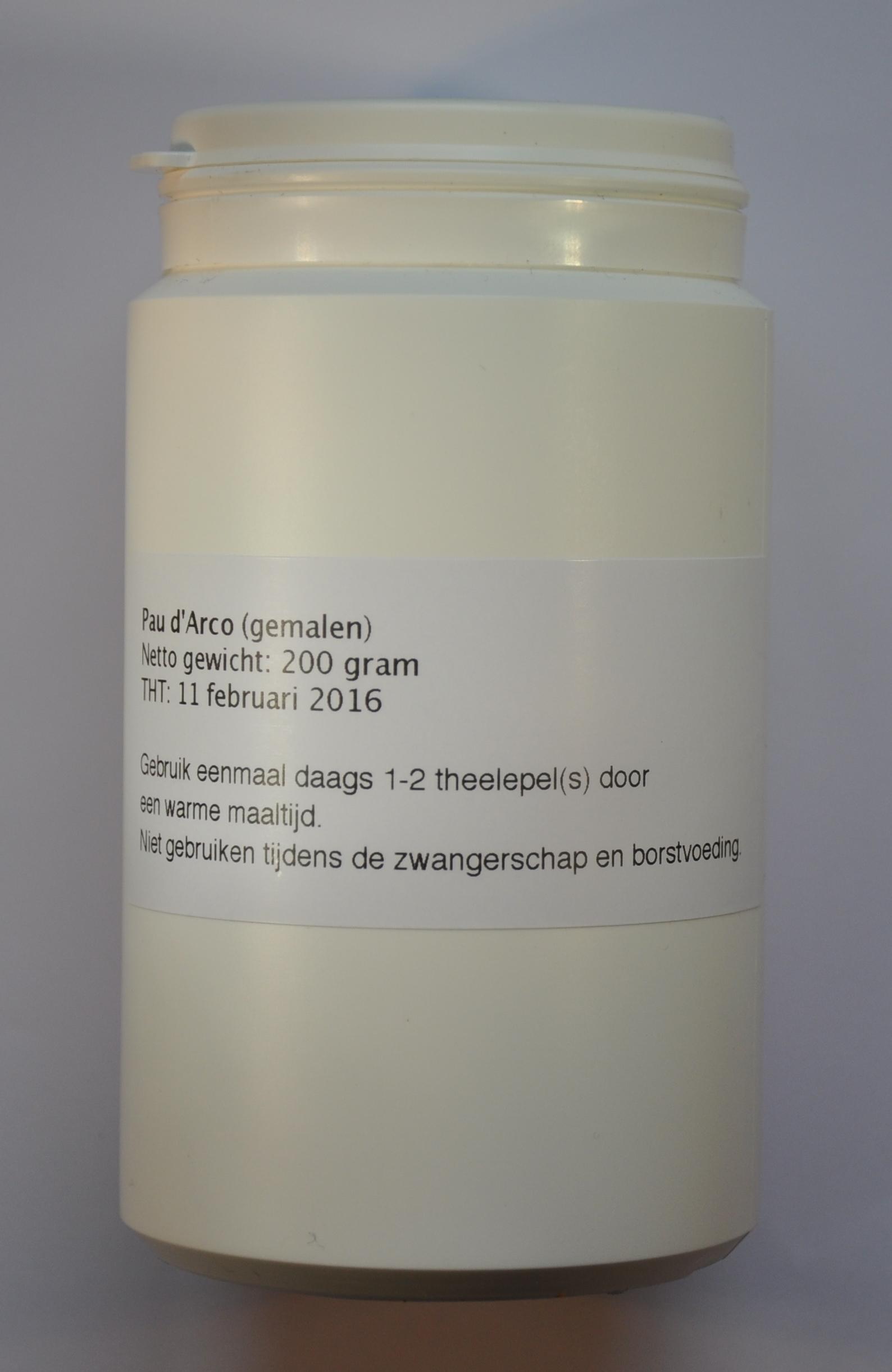 Pau d'Arco thee gemalen (200 gram)