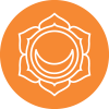 Chakra 2 affirmatie Harmonie (oranje)