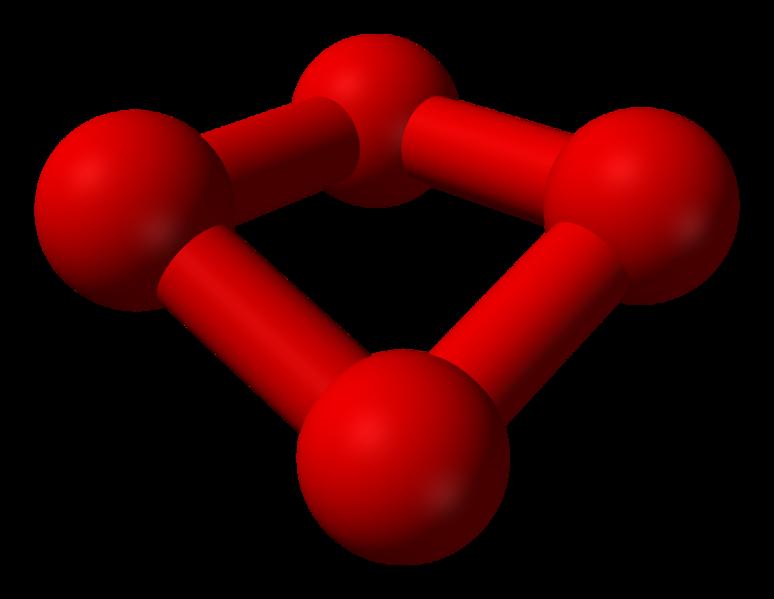 Polyatomische tetraoxygen