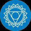 Chakra 5 affirmatie Creativiteit (blauw)
