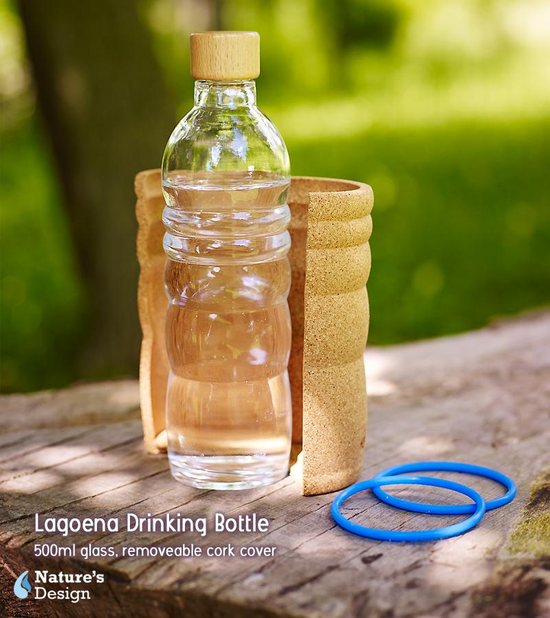 Vitaalwater drinkfles Lagoena!