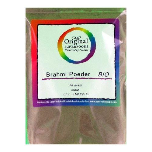 Biologische Brahmi poeder (50 gram)