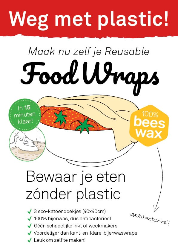 Food Wrap bijenwas