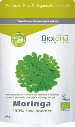Bio Moringa raw powder