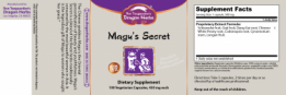 Dragon Herbs Magu Secret label