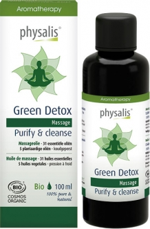 Biologische Massageolie Green Detox
