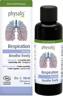 Biologische Massageolie Respiration